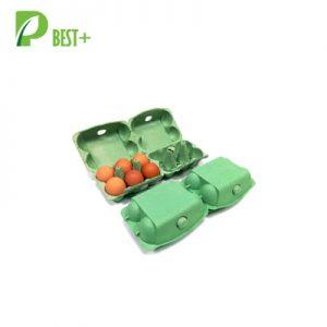 6+6 Cells Green Egg Cartons 173