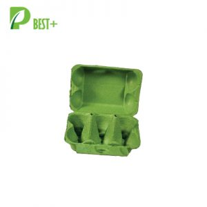 Green 6 Cells Egg Carton 186