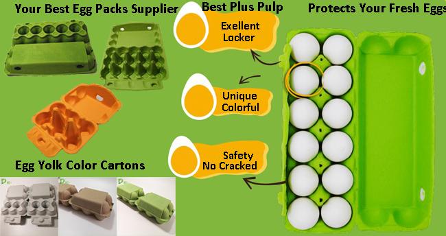 Wholesale Paper Egg Cartons