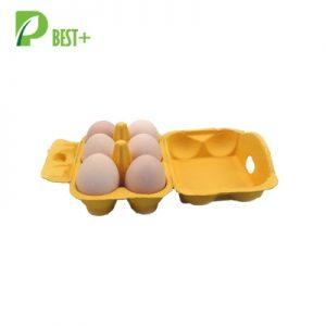 6 Cells Pulp Egg Carton Tray 140