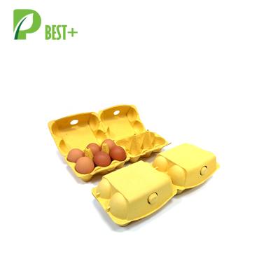 Yellow 6 Eggs Paper Box 185